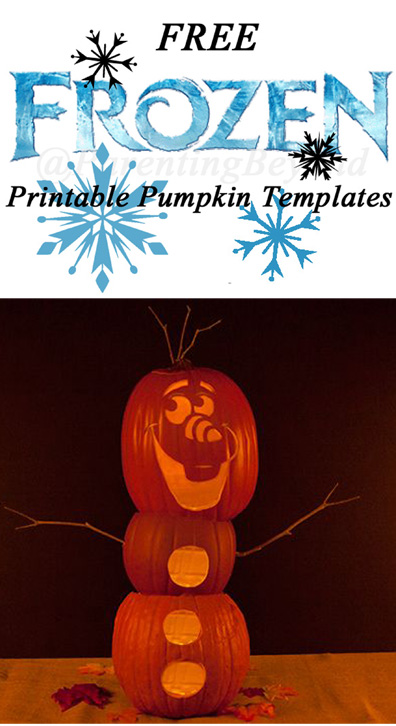Free FROZEN Pumpkin Carving Halloween Templates ~ FREE Stencil ...