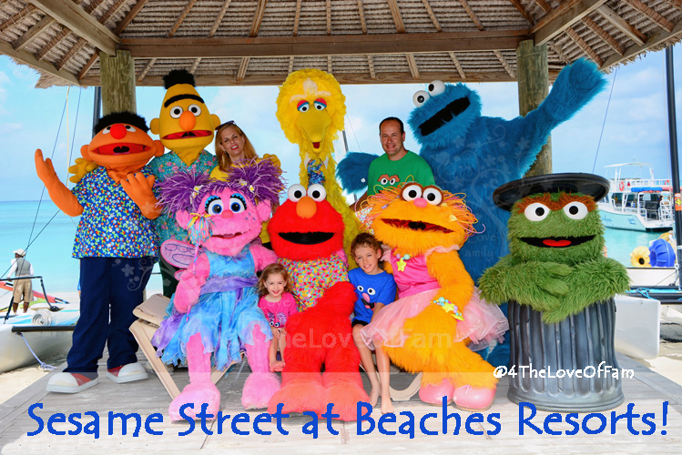 How You Can Experience Sesame Street At Beaches Resorts