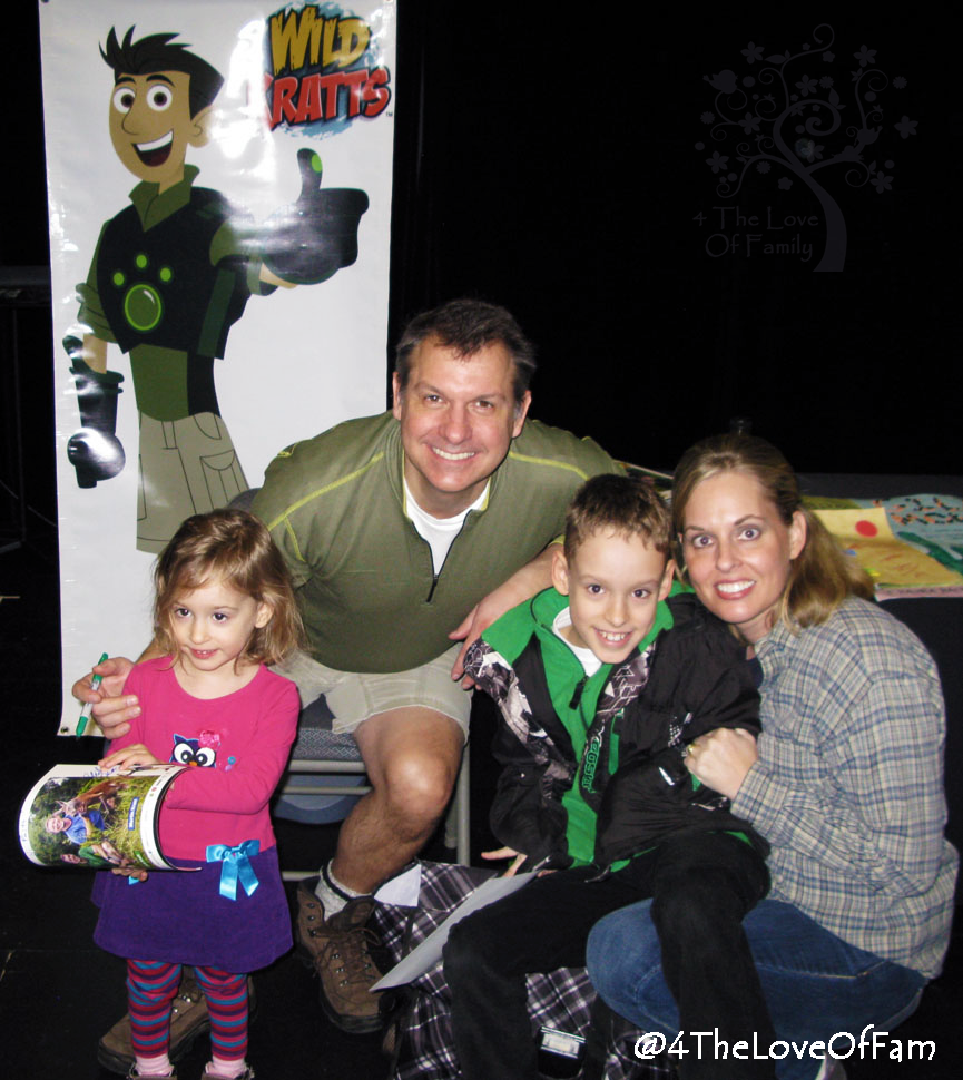 Wild kratts live answers parents pleas 4 the love of family you dont need to be in the show to get out there and have some amazing creature adventures there are cool creatures everywhere even right in kristyandbryce Gallery