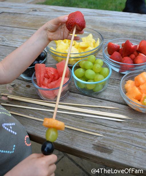Fresh Fruit Wands