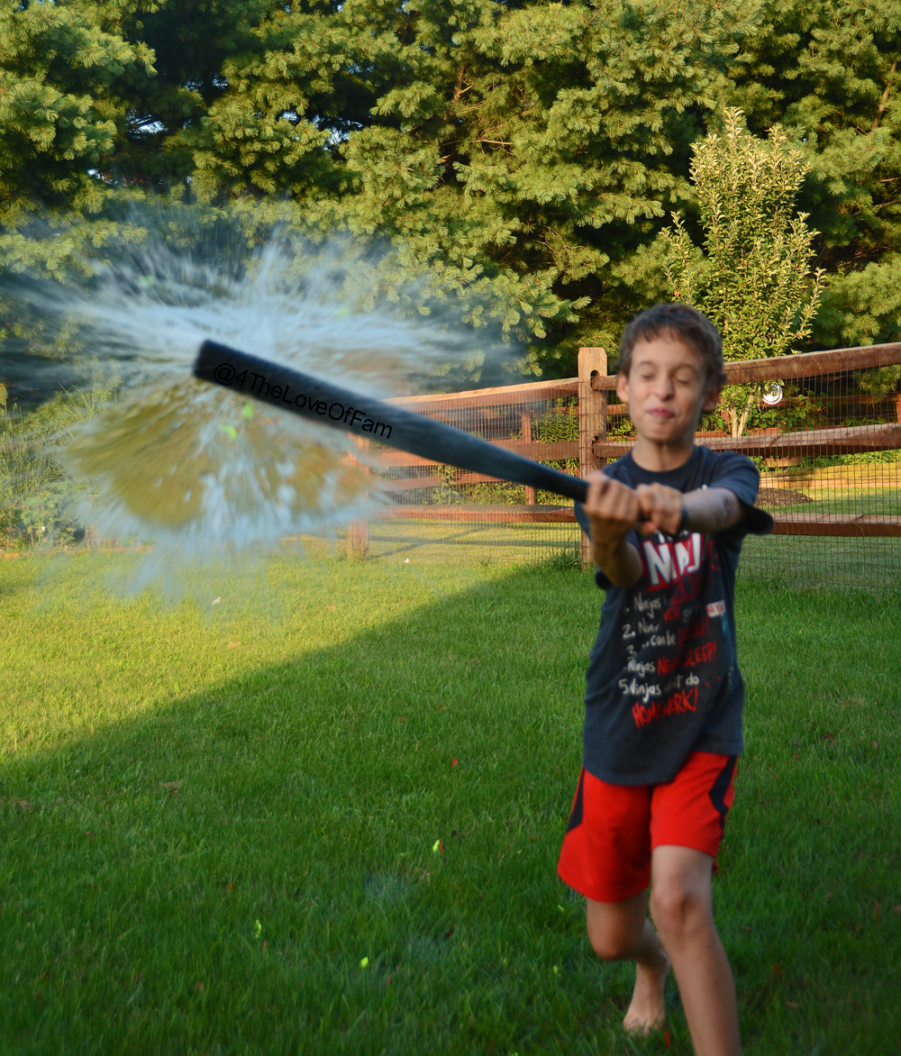 family fun backyard water balloon baseball 4 the love of family